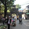 Las puertas del casco antiguo de Hanoi