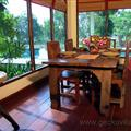 Dining room at Gecko Villa