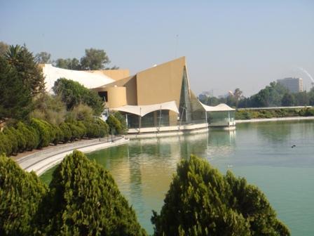 """Restaurante """"El lago"""" en el Lago de Chapultepec"""