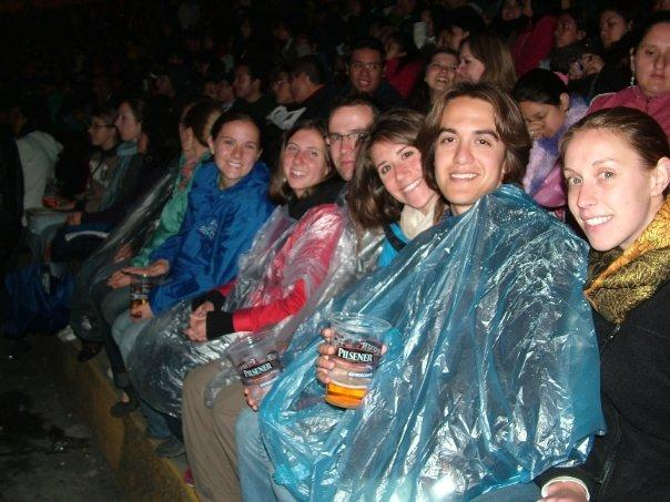 us at the concert