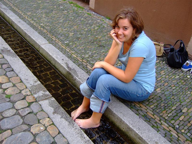 me in Bächle