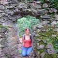 me in the old castle walls