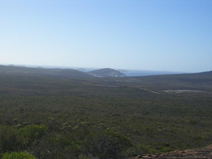 View from Frenchmans peak (Cape Le Grande Nt Park)