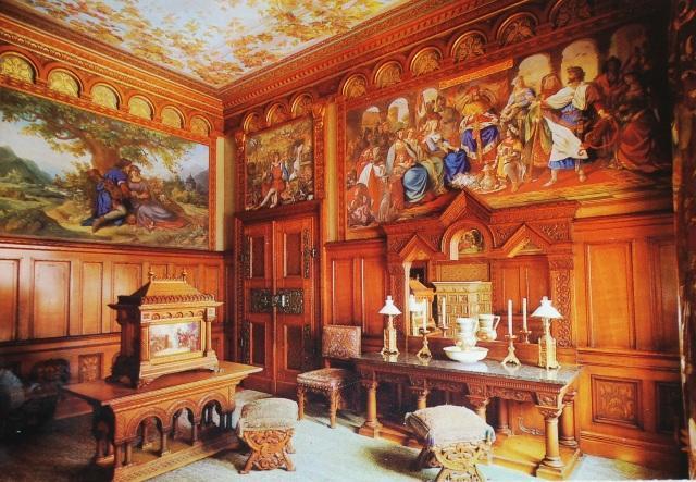 Interior of Neuschwanstein Castle