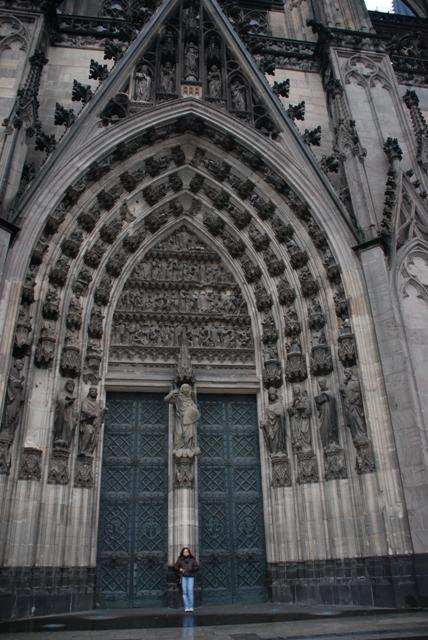 details of handwork of one of the Cathedral Doors