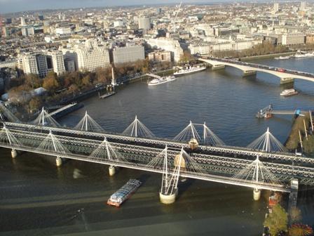 Millenium and Jubilee Foot Bridges
