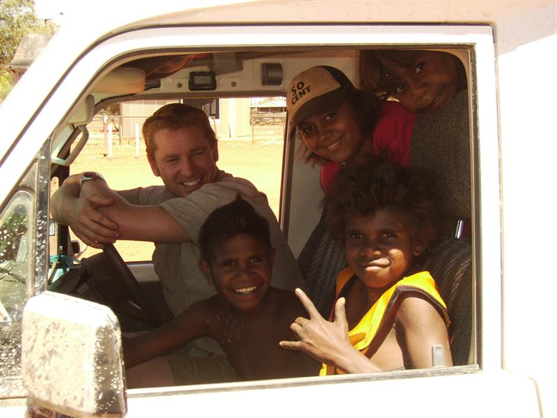 Some Of The Kids From Finke