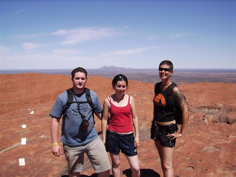 Keith, Sile And Me At The Top