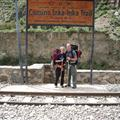 The start of the Inka Trail