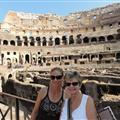 Mother / Daughter at the Coloseum