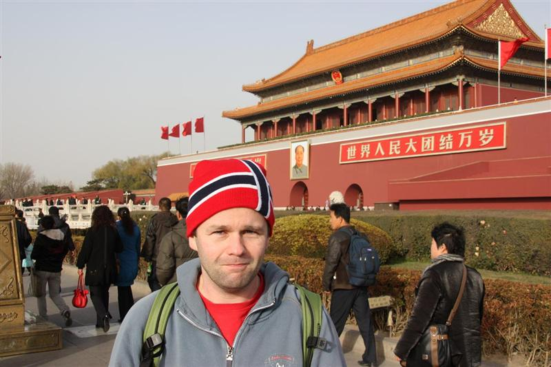 nordmann foran forbidden city