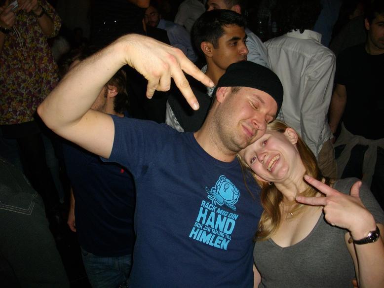 Rockin' at Houge night club, 2nd night