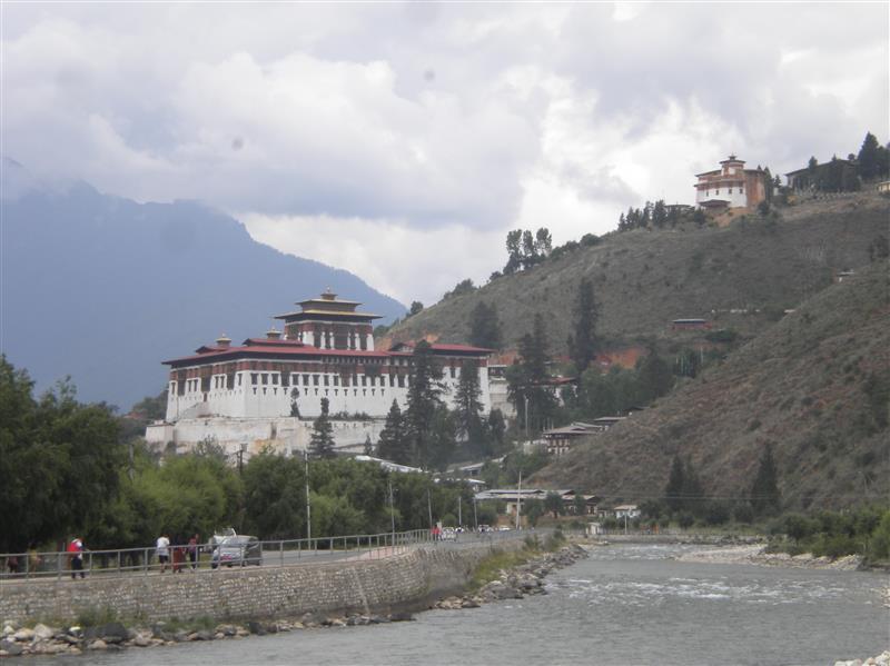 the Dzong at Paro