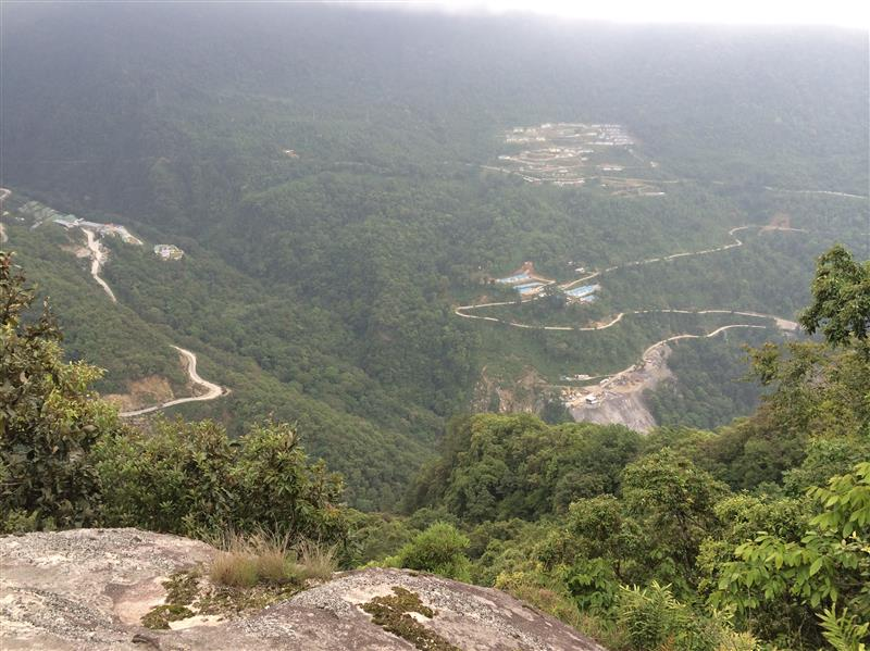 hydroelectric project below Trongsa: more power for India