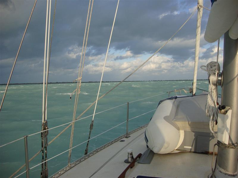 Stormy weather over  Great Sale Cay