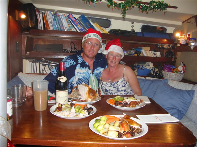 Christmas dinner with al the trimmings
