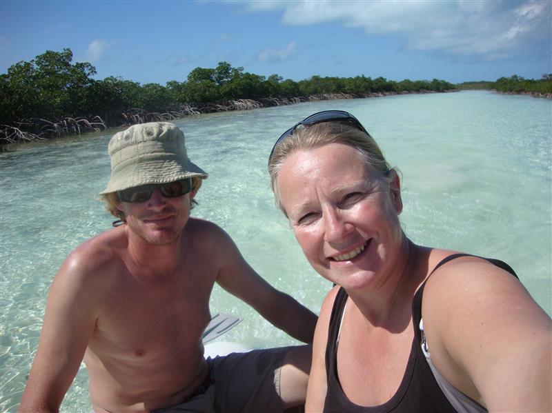 Exploring into Shroud Cay