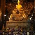 Buddha-Statue in Wat Pho (aber nicht die größte...)