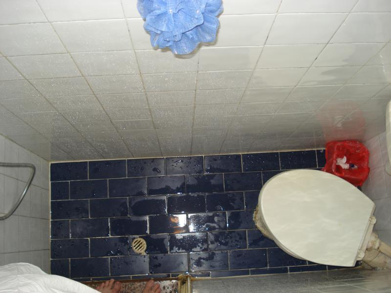 Our tiny toilet-cum-shower