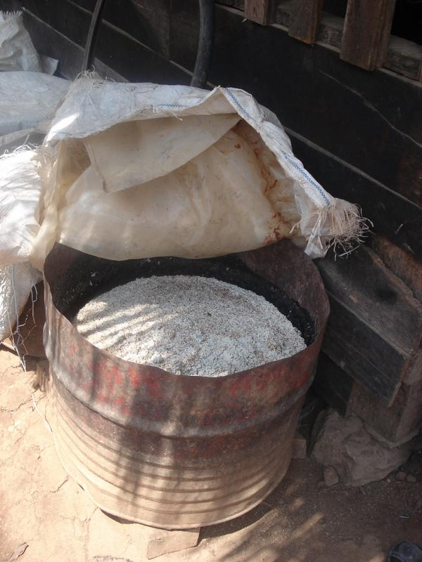 Fermenting rice