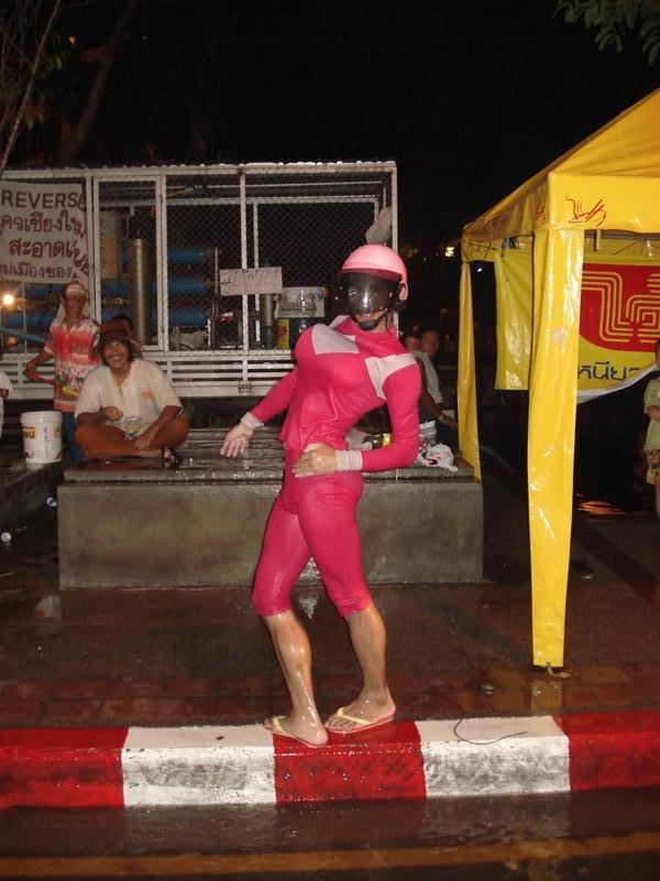 Ladyboy Power Ranger host (now off duty)