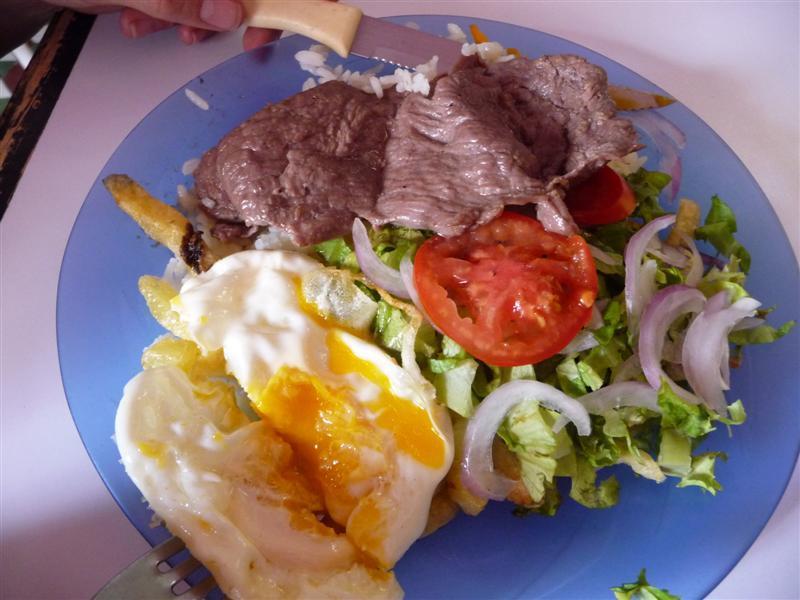 Joanne's Bolivian lunch