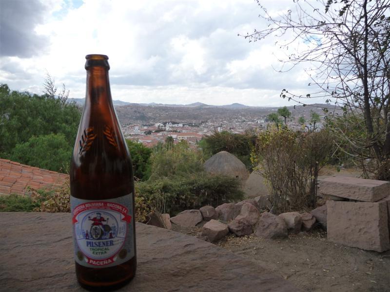 Beer at Cafe Mirador