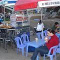 Drinking sua dau nanh (soya) and sua dau xanh (mung)
