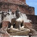 Another concrete Buddha at Wat Mahathat