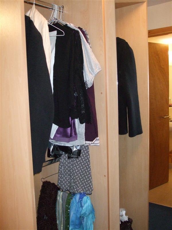 Left Side of Closet