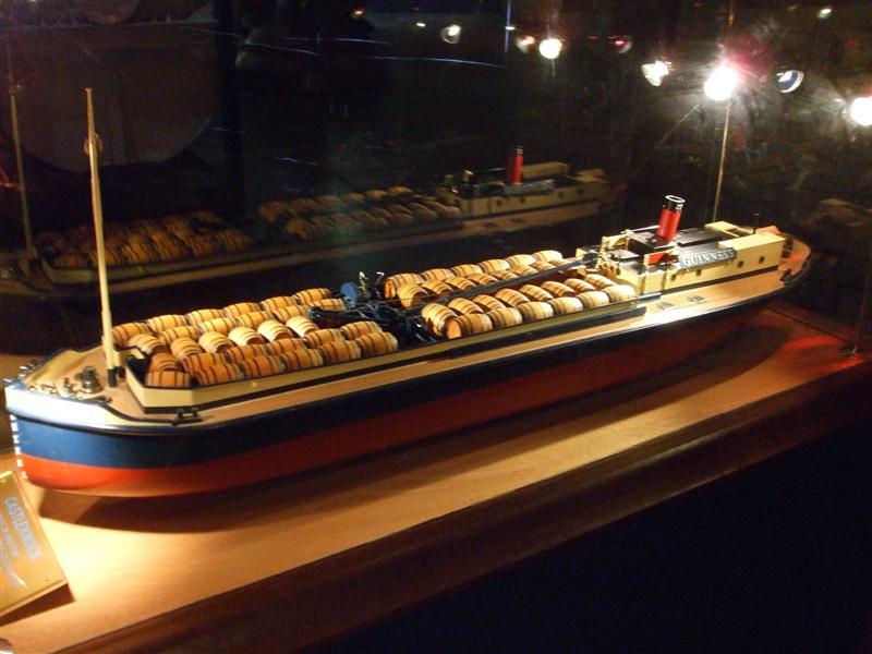 Guiness Ship Model