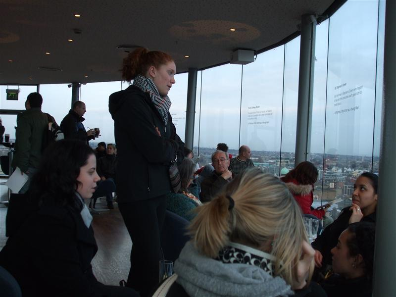 Limerick Girls haning out in the Gravity Bar