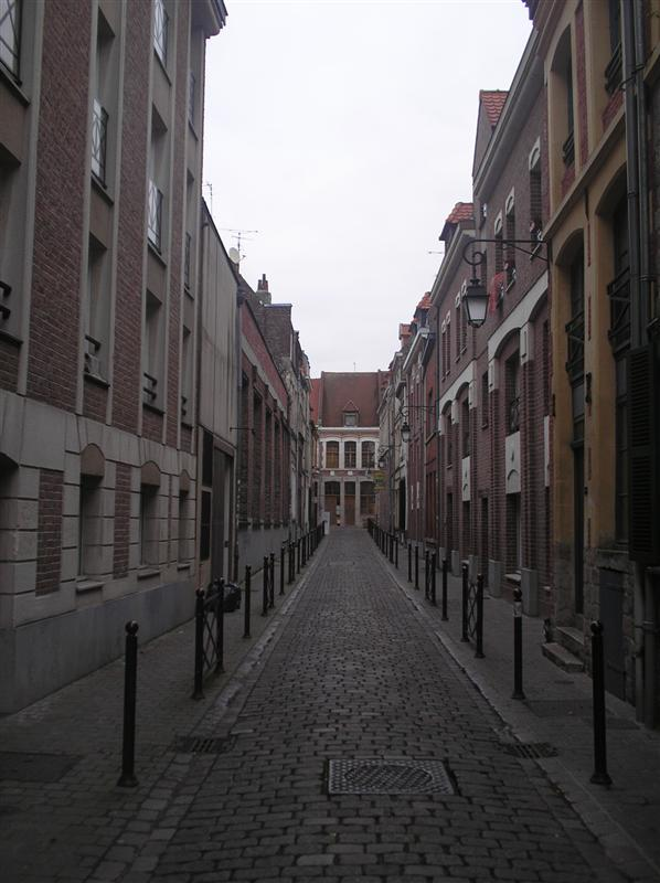 a street in vieux lille