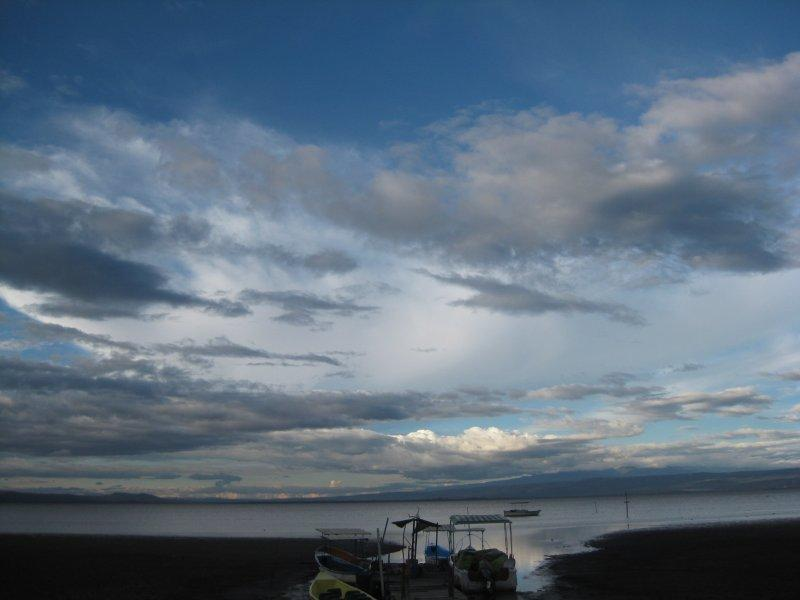 On the shores of Lake Naivasha