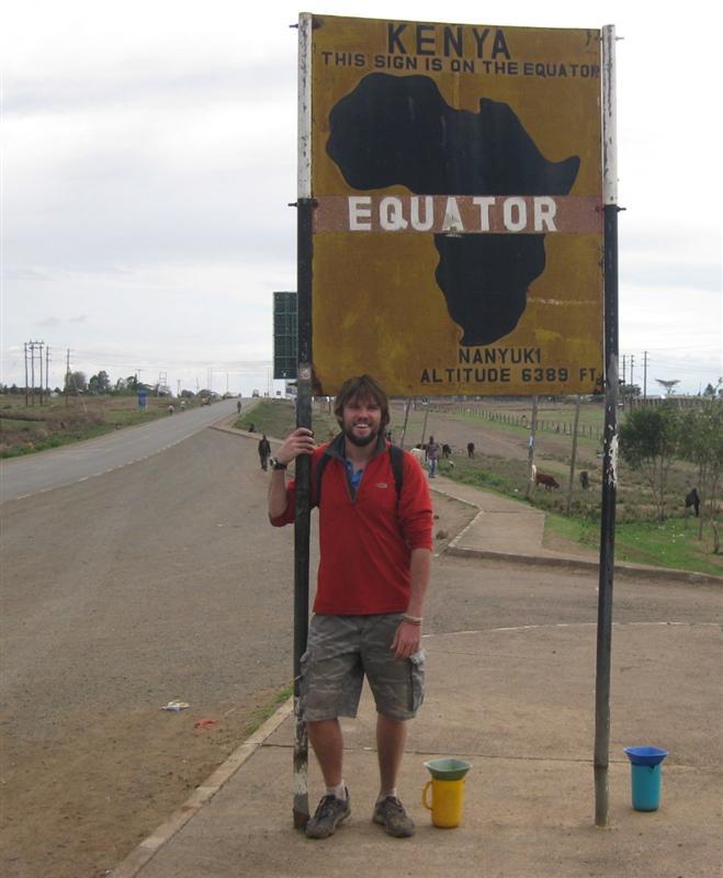 Heading into the Northern hemisphere