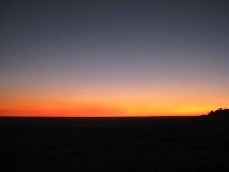 Sunset At Kubu Island