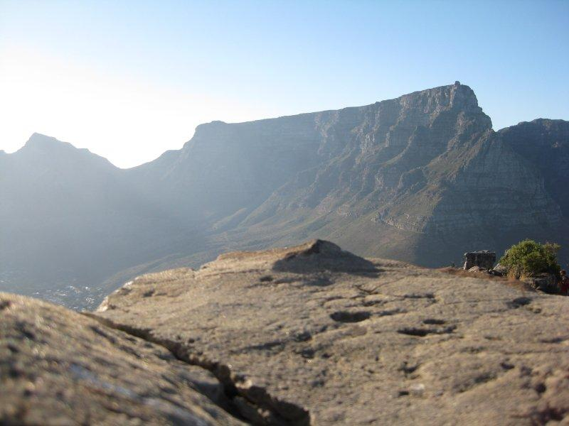 Table Mountain from Lions Head