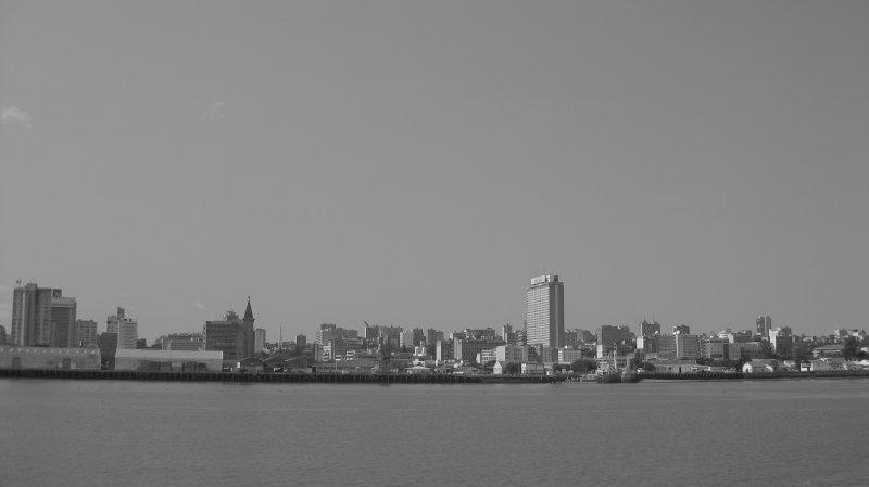The View From Catembe To Maputo