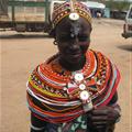 A member of the Samburu tribe