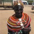 A member of the Samburu tribe