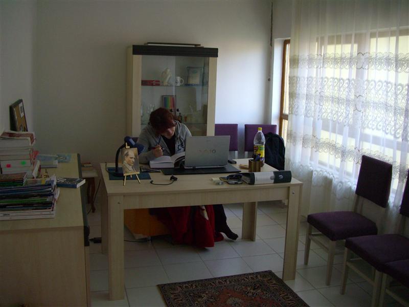 Eda's study.