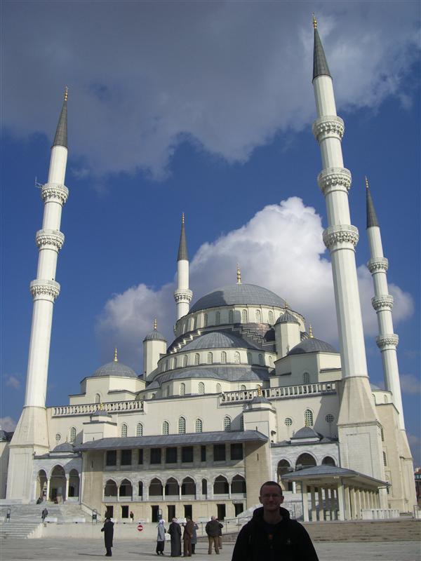 Mosque in Ankara.