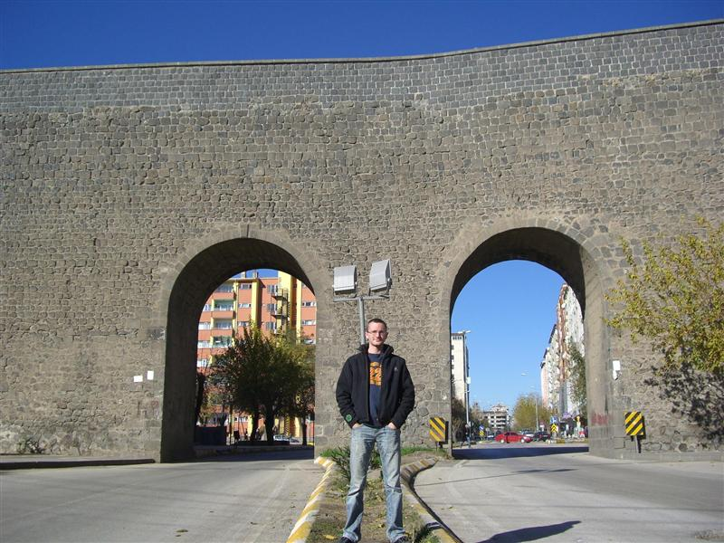 Wall in Diyarbakir. Supposedly the world's second largest wall.