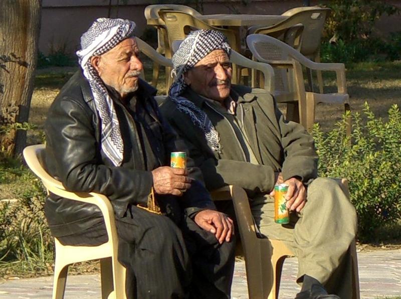 Men in Erbil.