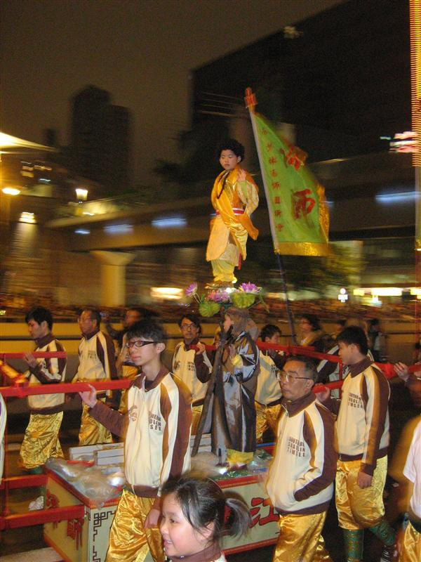 Hong Kong Chinese New Year Night Parade - Kind op stok