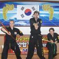 ninja family: ellen, seamus and myself