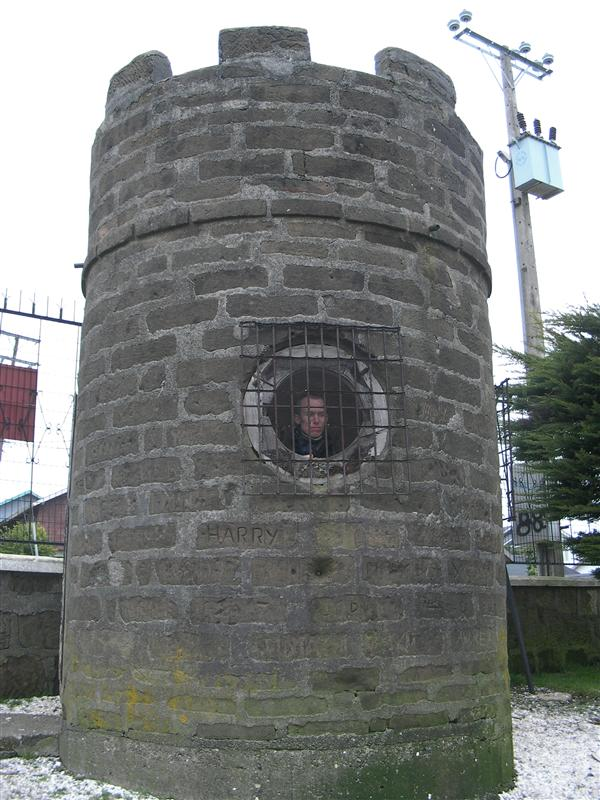 Tower with the prince prisoner