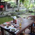 Bebek Bengil dish at Bebek Bengil Restaurant, Padang Tegal