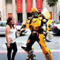 Bumble Bee made an appearance in Hollywood!