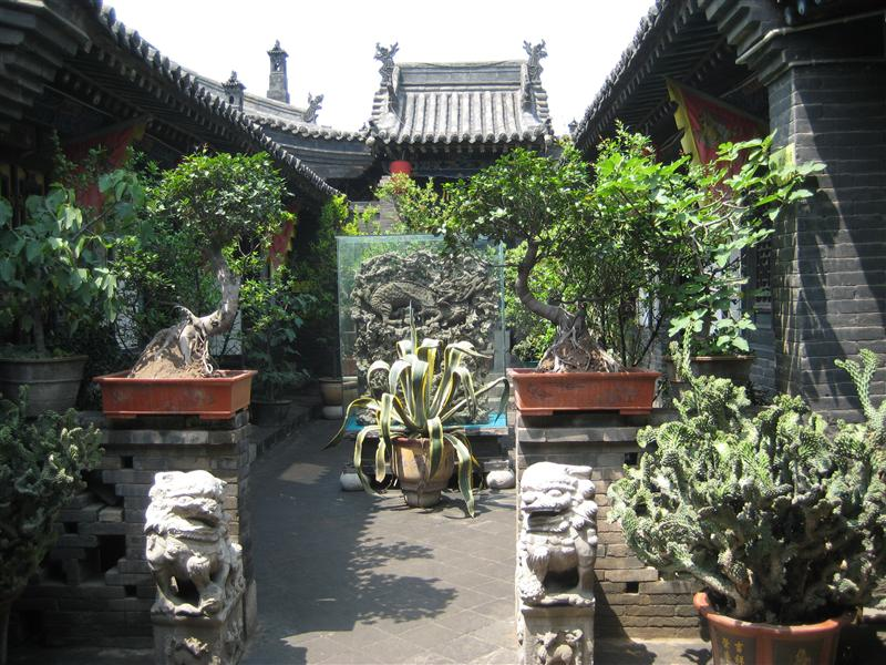 old preserved house in pingyao